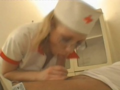 Nurse gives him head and sits on dick videos