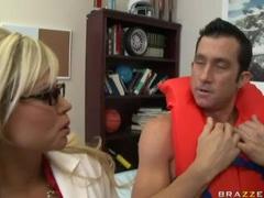 Bimbo nikita von james sex scene with big cock movies at lingerie-mania.com