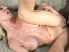 Mom with fake tits filled by big black cock videos