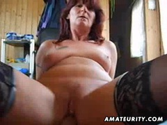 Naughty amateur milf sucks and fucks with creampie movies at kilopics.net