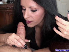 Foxy anya gets fucked and big tits jizzed videos