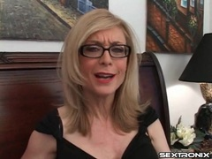 Naughty talk from nina hartley in glasses videos