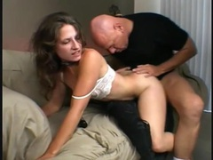 Slim flexible girl fucked in her hairy pussy videos