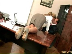 Brooklyn lee in sexy office outfit sucks cock videos