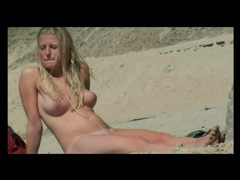 Thesandfly presents itsmee-karennudist 2013 beach voyeur! videos