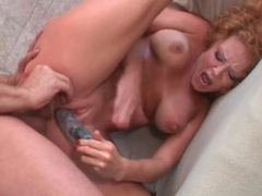 Dirty whore audrey hollander nailed in ass videos