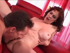 Happy mom with perfect round tits fucked hard videos