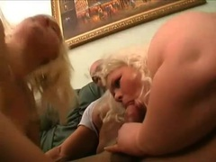Threesome with a pair of sexy fat blondes movies
