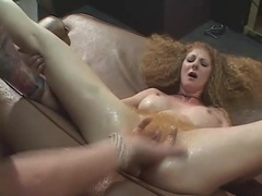 Limber redhead with big fake titties laid movies at kilotop.com