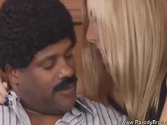 Hot blondy rides so wild into black guy big cock movies at kilosex.com