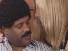 Hot blondy rides so wild into black guy big cock movies at adipics.com