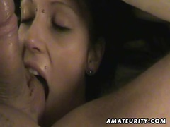 Cute amateur girlfriend sucks and fucks with cumshot movies at kilopics.net