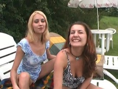 Blowjobs and pussy eating in outdoor foursome movies at kilopics.net
