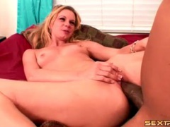 Blonde with chick cock of a black guy inside her videos