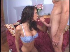 Lean body deepthroat girl gets on top movies at lingerie-mania.com