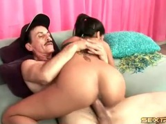 Young latin girl fucked by big old man cock movies at kilopills.com