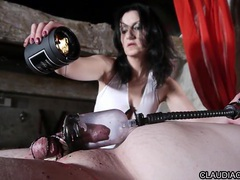 French domina candle wax and fist anal claudiacuir videos