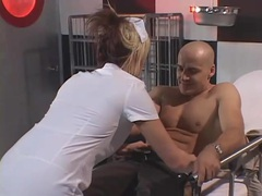 Nurse sucks his dick and gets fucked in the ass videos