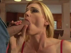 Skinny blonde milf pornstar with tattoo ass fucked movies at freekiloporn.com