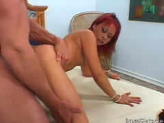 Asian with red hair loves the hard fucking tubes at korean.sgirls.net