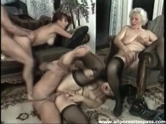 An orgy with old ladies in the living room movies at adspics.com