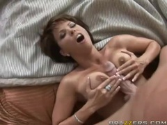 Gigantically thick cock fucks milf kayla synz videos
