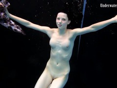 Teens swim and strip nude in underwater video movies at find-best-lingerie.com