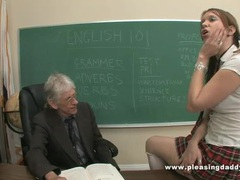 Young slut will do anything to pass the class videos