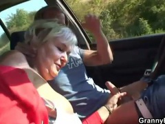 Fucking mature in the car and grass videos