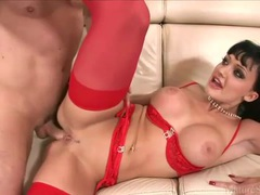 Aletta ocean looks steamy fucking in lingerie movies at find-best-babes.com