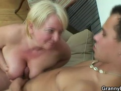 Chubby old gal is a cock pleasing slut movies