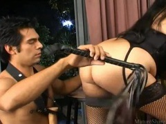 He serves the dominant milf chick movies at kilosex.com