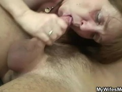 Old vagina looks tight as he fucks it hard movies at lingerie-mania.com