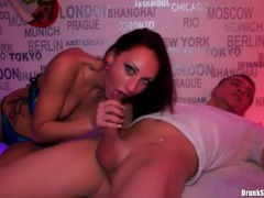 Cunt licking and hot fucking ladies at a party movies at sgirls.net