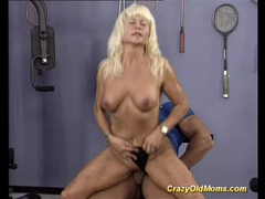 Crazy old mom gets hard fucked videos