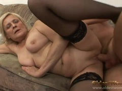 Foreplay with flabby mature slut he fucks movies at kilosex.com