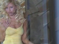 Glam girl with long wavy blonde hair is hot movies at kilosex.com