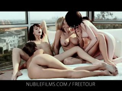 4 way lesbian lust videos