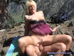 Mountain fuck fest blonde sex videos