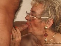 Grandma in glasss fucked by a big cock tubes