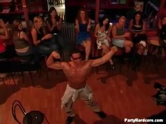 Man dances for hot ladies at the club videos