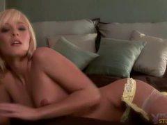 Seductive blonde felicia taylor lingerie poses videos