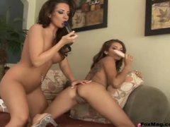 Naughty pornstars lesbian dildo fucking movies at kilovideos.com