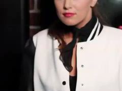 Kinky 50s style outfit on hottie leanna decker videos