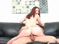 Eaten out redhead sits on his cock movies at find-best-babes.com