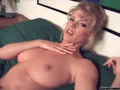 Glamorous beauty with big natural tits fingers movies at lingerie-mania.com