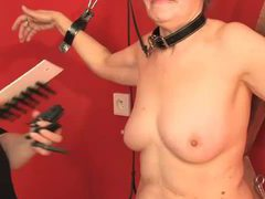 Granny punished in the dungeon by lesdom movies at find-best-lingerie.com