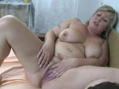 He has delighful threesome with granny and milf movies at sgirls.net