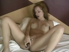 Morning dildo masturbation for horny milf videos