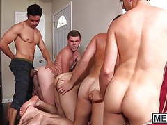 Hottie rafael alencar rewards four twinks with his big dick movies at kilopills.com